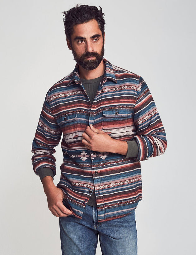 Canyon Overshirt - Mesa Skyline