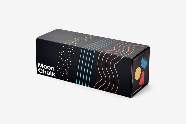 Moon Chalk, Set of 3 - Red/Blue/Yellow