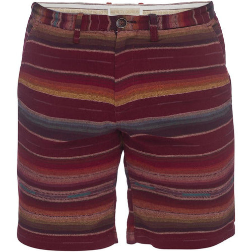 Morgan Bermuda Shorts - Multi Red