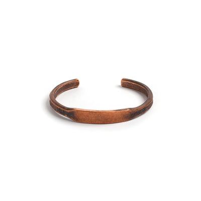 ID Cuff - Patina Copper