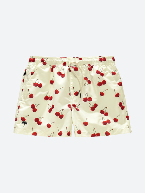 Cherry Swim Shorts