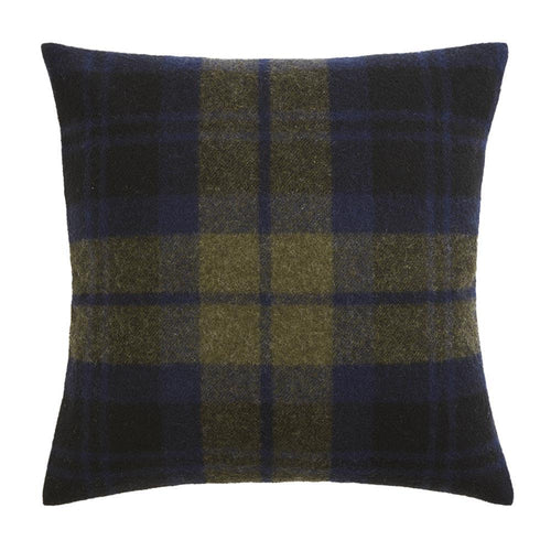 "Shadow Plaid Pillow Cover, 20"" x 20"" - Navy"