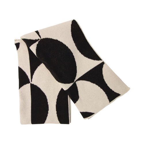 Modern Throw - Puzzle/Black