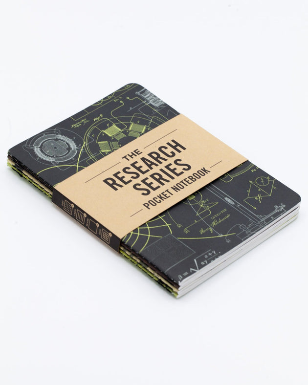 The Research Pocket Notebook Series, 4 pack - Engineering