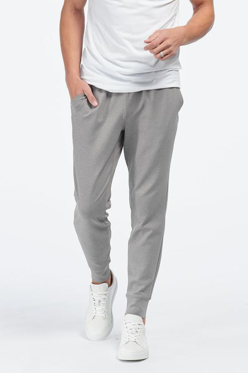Spar Jogger - Light Grey Heather