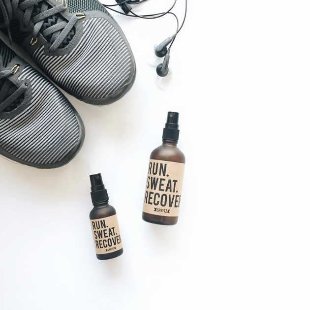 Run. Sweat. Recover. Spritz, 3.4 oz.
