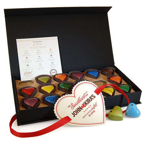 Chocolate Heart Collection - 18 Assorted pieces