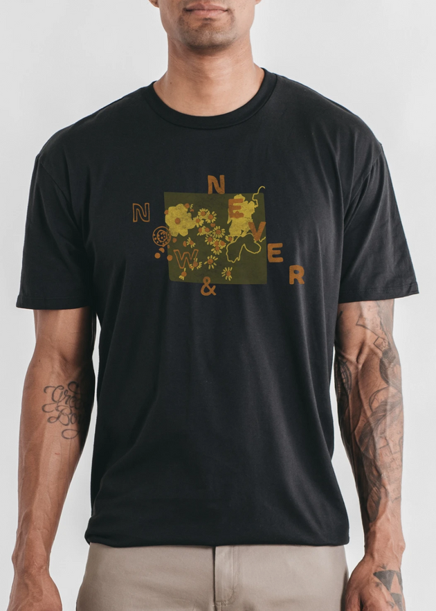 Now & Never T-Shirt - Black