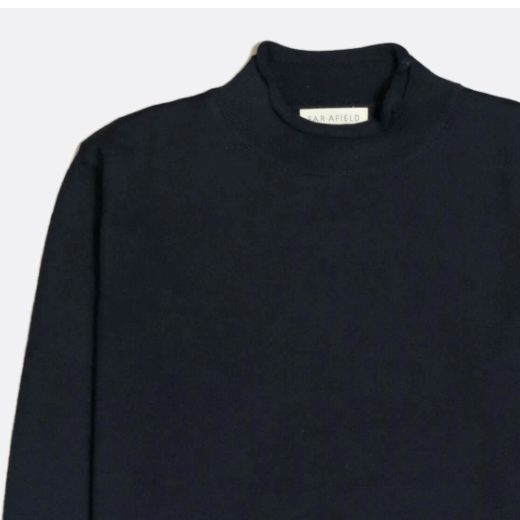 Sergey Roll Neck - Navy
