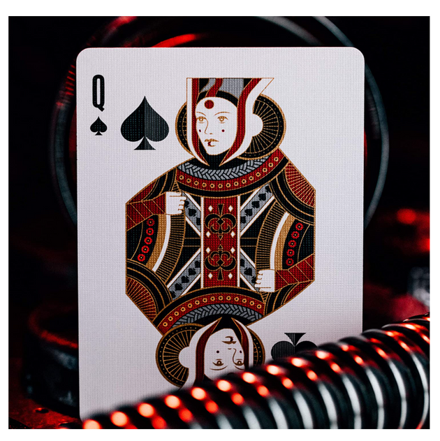 Star Wars Playing Cards, Silver Special Edition - Dark Side