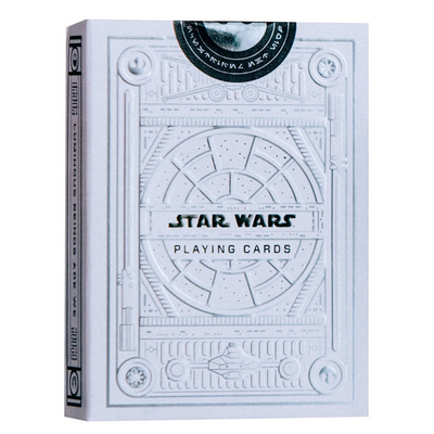Star Wars Playing Cards, Silver Special Edition - Light Side