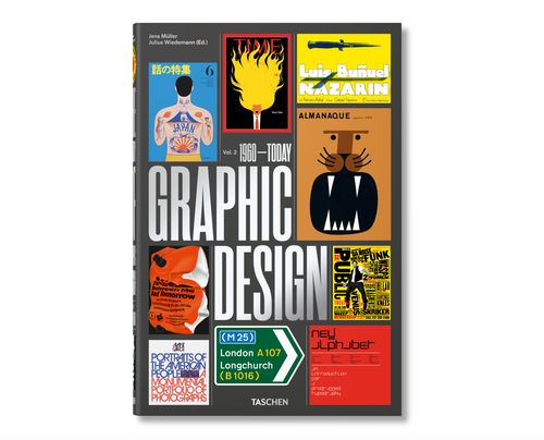 The History of Graphic Design Volume 2, 1960 - Today
