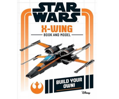 Star Wars: X-Wing Book and Model