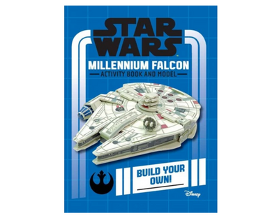 Star Wars: Millennium Falcon Activity Book and Model