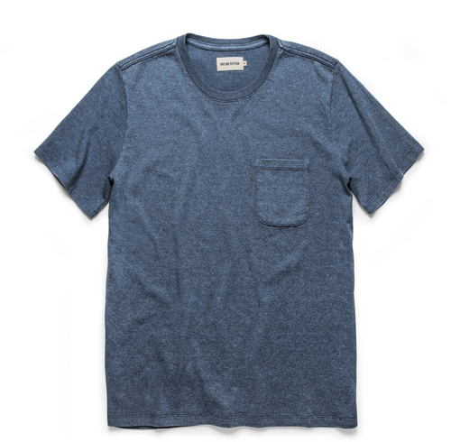 Heavy Bag Tee - Dusty Blue