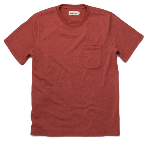 Heavy Bag Tee - Washed Rust