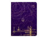 Hardcover Notebook, Large - Planetary Motion