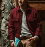 The Explorer Shirt - Burgundy