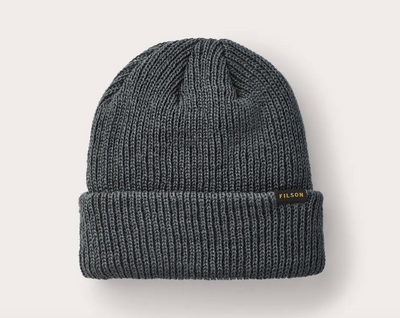 Watch Cap Beanie - Charcoal