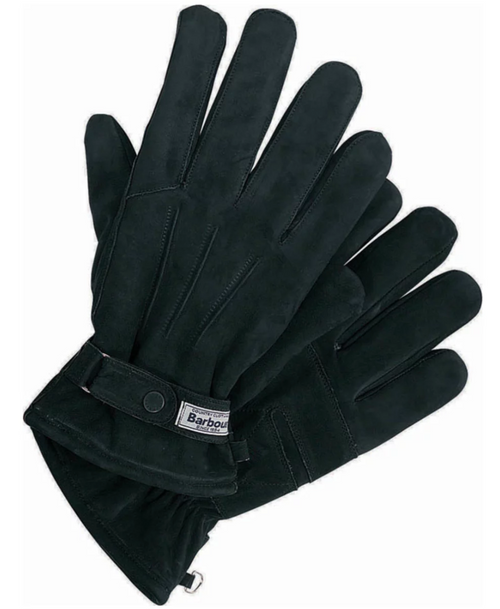 Leather Thinsulate Gloves - Black