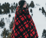 Mackinaw Blanket - Red/Black Plaid