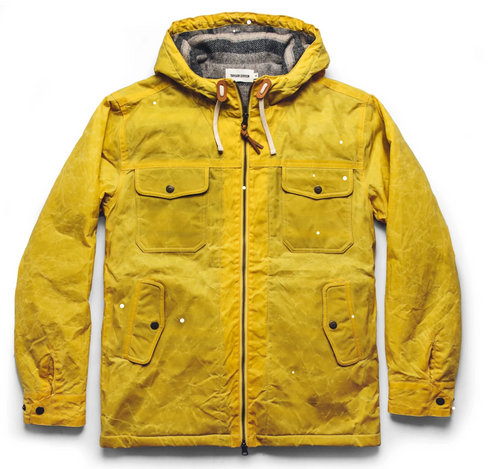 The Winslow Parka in Waxed Canvas - Mustard