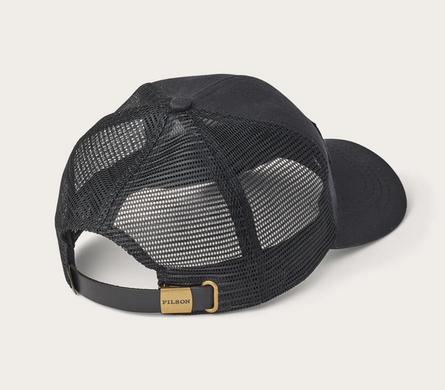Logger Mesh Cap with Saw Patch - Gold/Black