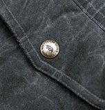 The Winslow Parka in Waxed Canvas - Slate