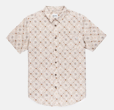 Mentawai Short Sleeve Shirt - Natural