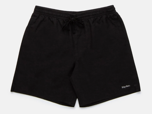 The Classic Black Beach Short - Black