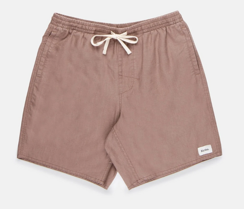 Linen Jam Short - Berry