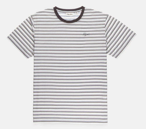 Everyday Stripe T-Shirt - Stone Blue