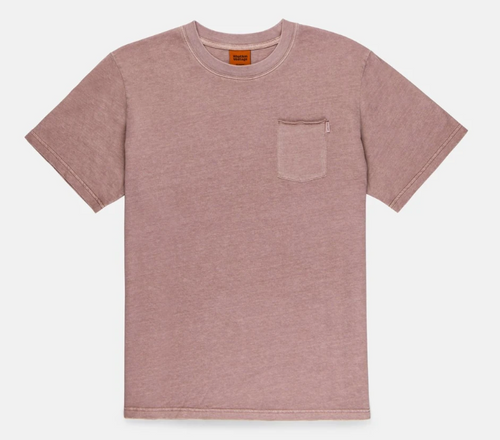 Everyday Wash T-Shirt - Wine