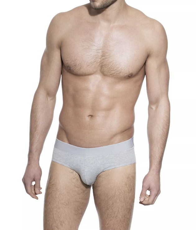 Brief - Grey Melange