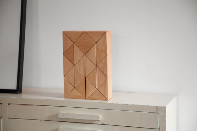 Snake Blocks, Large - Natural