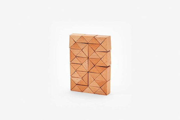Snake Block, 48 pc. - Natural