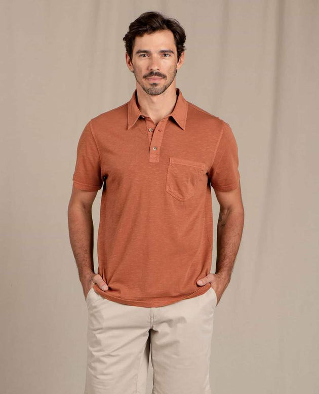 Primo Short Sleeve Polo - Coconut Shell