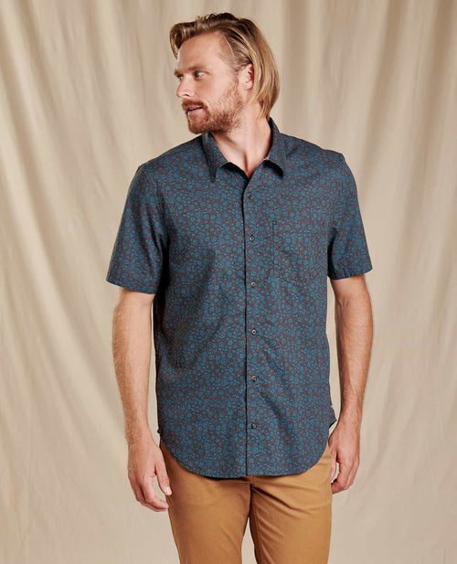Fletch Short Sleeve Shirt - Hydro Floral Print