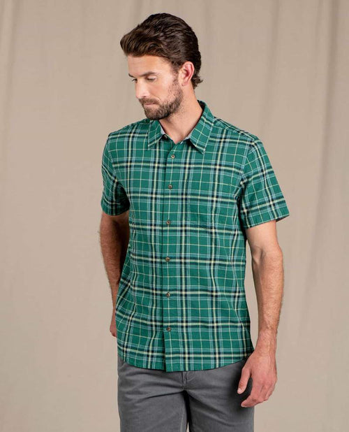 Airscape Short Sleeve Shirt - Camp Green