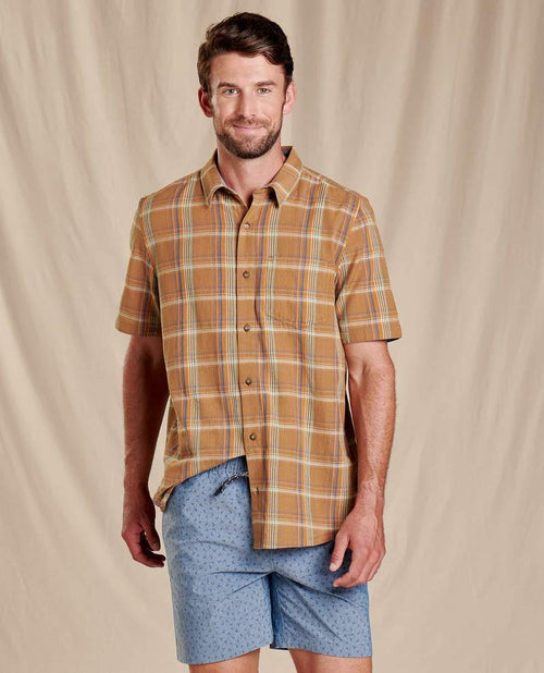 Airscape Short Sleeve Shirt - Tabac