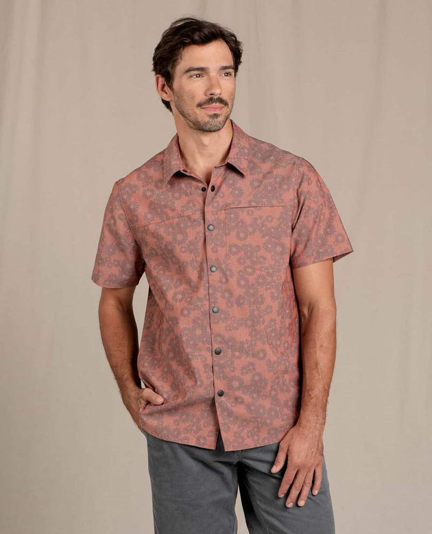 Boundless Short Sleeve Shirt - Picante Floral Print