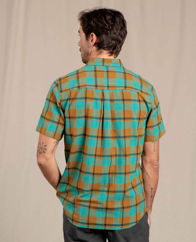 Smythy Short Sleeve Shirt - Husk