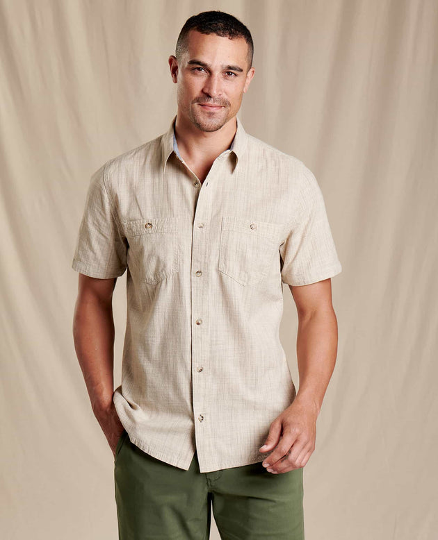 Smythy Short Sleeve Shirt - Twine