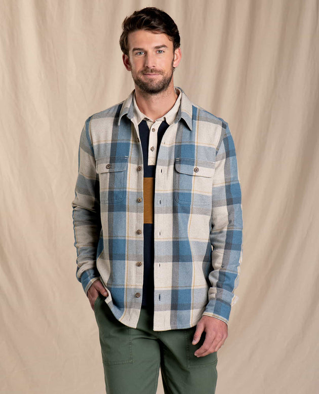 Ranchero Long Sleeve Shirt- Almond