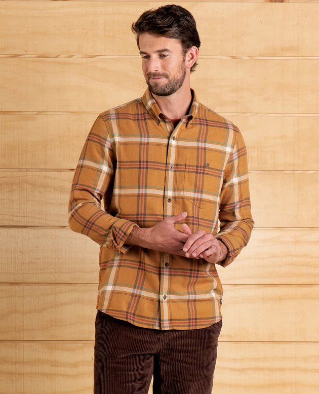 AirSmyth Long Sleeve Button Up - Palomino
