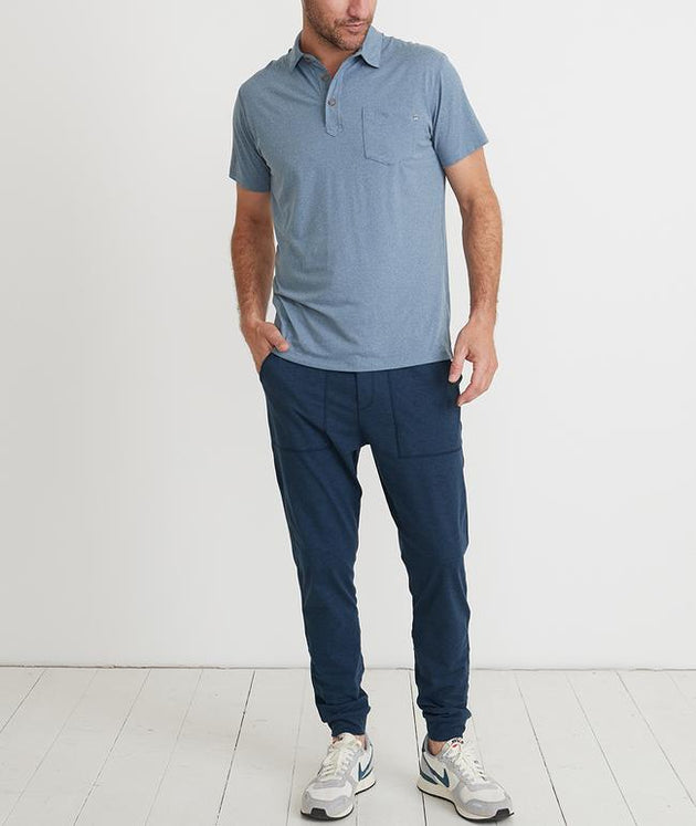 Palmer Sport Polo - Dark Denim