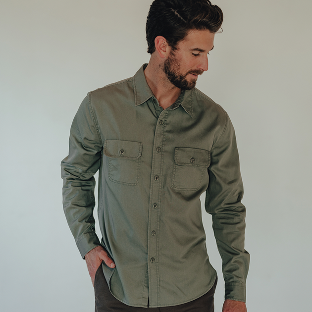Utility Overshirt - Green