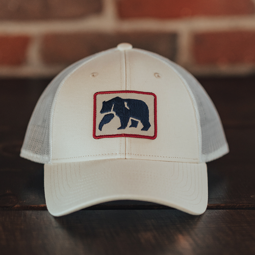 Dano Trucker Cap - White/Navy