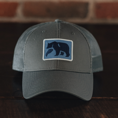 Dano Trucker Cap - Grey/Blue
