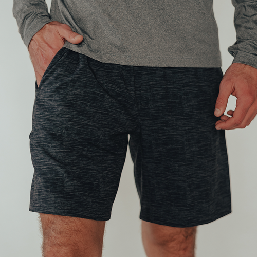7 Bros Workout Short - Black